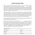 Artist/Artwork Release Form