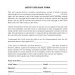 Artist Release Form | Artist Artwork Release Form Release Forms Release Forms